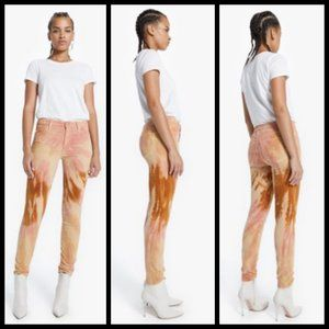 💕MOTHER💕 High Waisted Looker Pants ~ Tie Dye 26